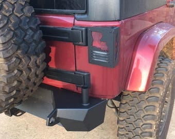 JK State tail light protector