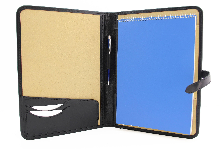 leather portfolio padfolio   executive folio a4  resume