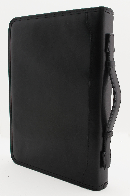 Leather Portfolio A4 Professional Business Padfolio