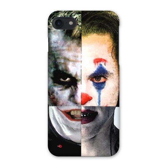 4 Jokers KiSS iPhone Case - Jack Nicholson, Heath Ledger, Jared Leto, Joaquin Phoenix - Why so Serious - Batman - Suicide Squad Joker Dark