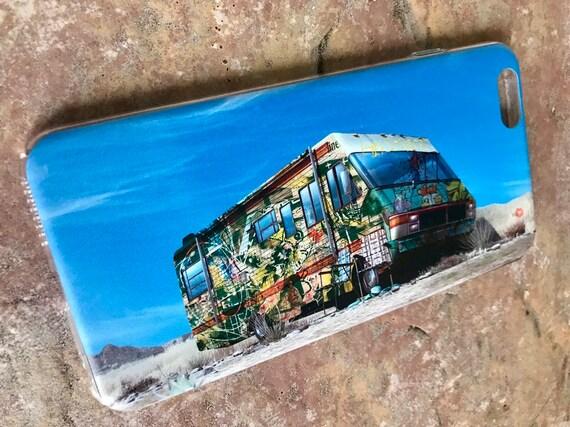 Breaking Bad Graffiti KiSS iPhone Case - New Mexico RV Tv Show Inspired - Aaron Paul - Bryan Cranston - Stocking Filler Birthday Present