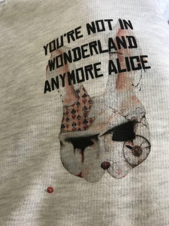 Wonderland KiSS Zip Hoodie - Alice - Cheshire Cat - Rabbit Hole, Cards - Dark - Twist - Disney Inspired