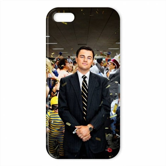 Leonardo Wall Street KiSS iPhone Case - DiCaprio - The Wolf - movie inspired - Jordan Belfort - Jonah Hill - stocking filler