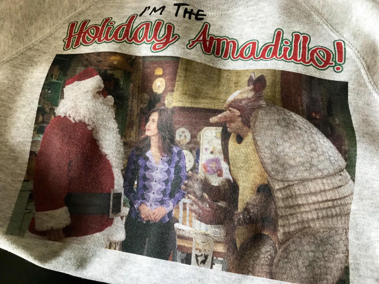 Friends Holiday Armadillo Inspired KiSS Sweatshirt - Christmas ...