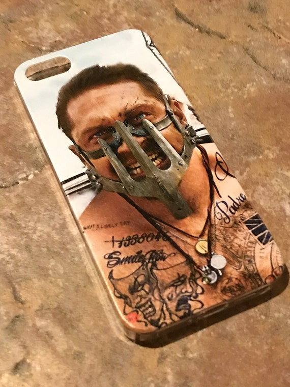 Tom Hardy Mad Max KiSS iPhone Case - Movie Inspired - Tattoos Inked - Present - Gift for her and him Valentines