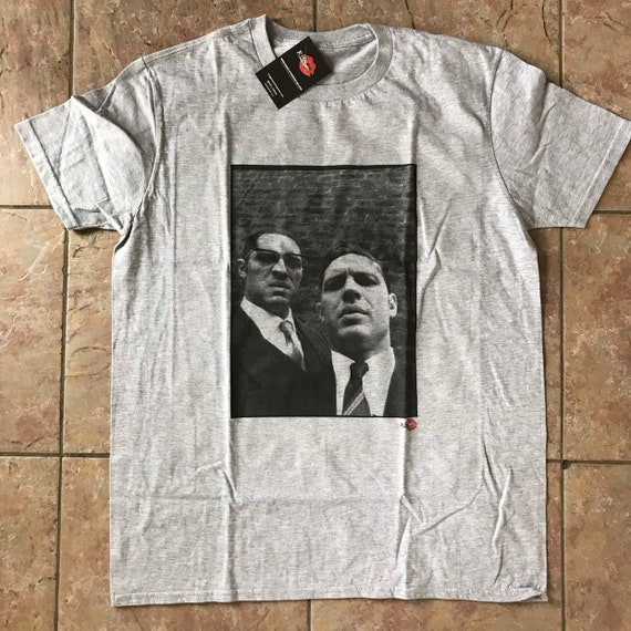 Tom Hardy/Krays KiSS T-Shirt - Kray Twins - Legend Movie Gangster Crime - London, Movie Fan Gift for Him & Her
