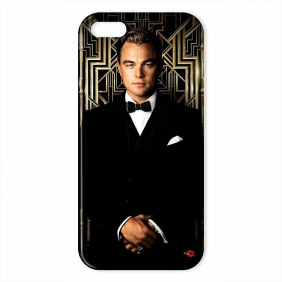Gatsby KiSS iPhone Case - Leonardo DiCaprio - The Great Gatsby Inspired - Old sport - Jay - Art Deco - Stocking Filler Gift