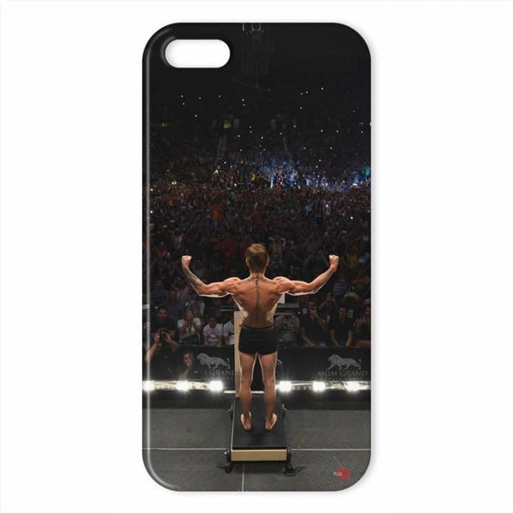 Conor Weigh In KiSS iPhone Case - The Notorious - MMA Fight - Ireland - Phone - Las Vegas - Christmas Present Idea Sports Fan