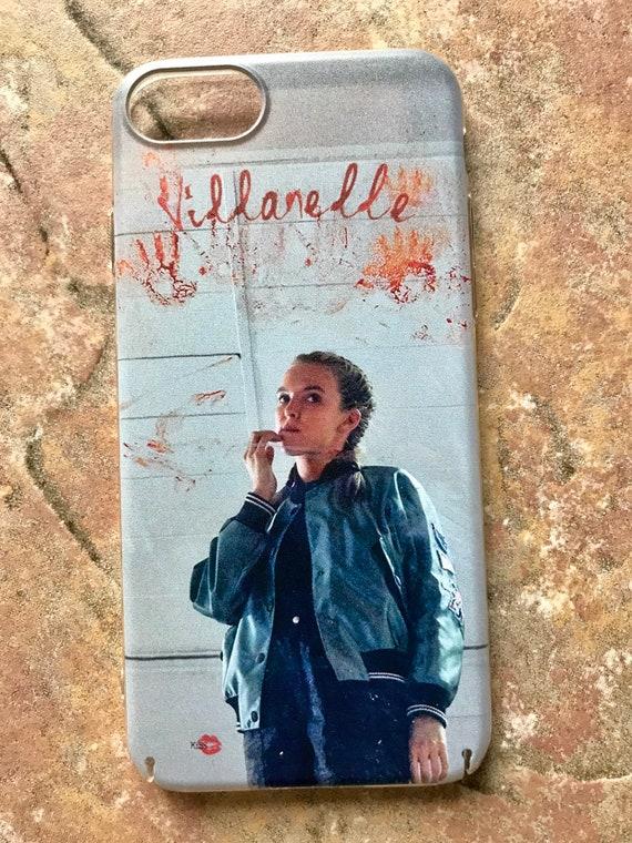 Villanelle KiSS iPhone Case - Killing Eve Inspired - Jodie Comer Blood Tv Show Quote - British Assassin - Black Comedy Dark Timeline