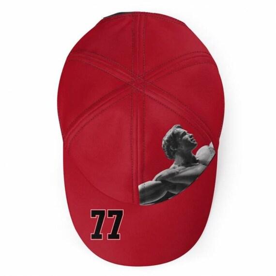 Arnie 77 KiSS Baseball Cap - Arnold Schwarzenegger - Gym Fitness - Bodybuilding - Fitness