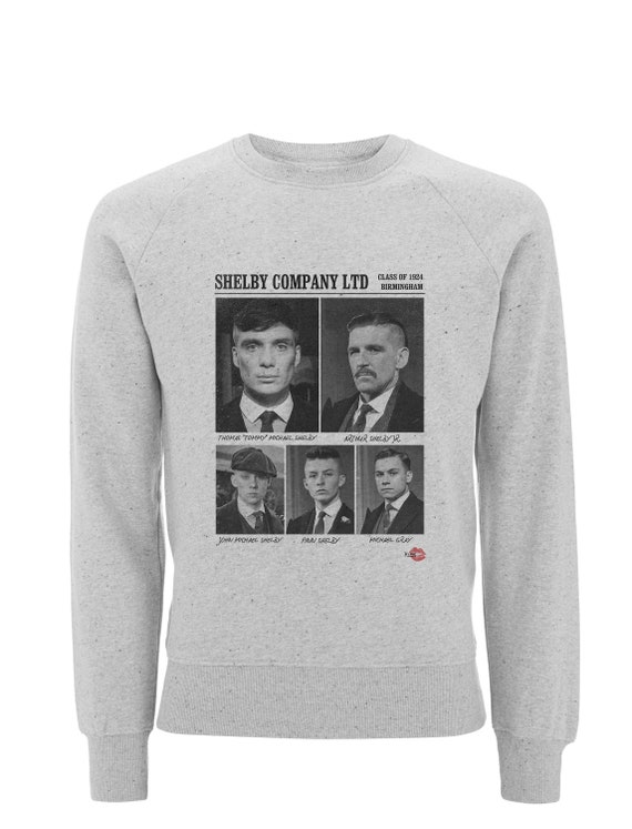 Shelby Gang Ltd KiSS Sweatshirt - Peaky Blinders Inspired - Class of 1924 - By Order of the - Tommy, Arthur - UK TV Show Shirt