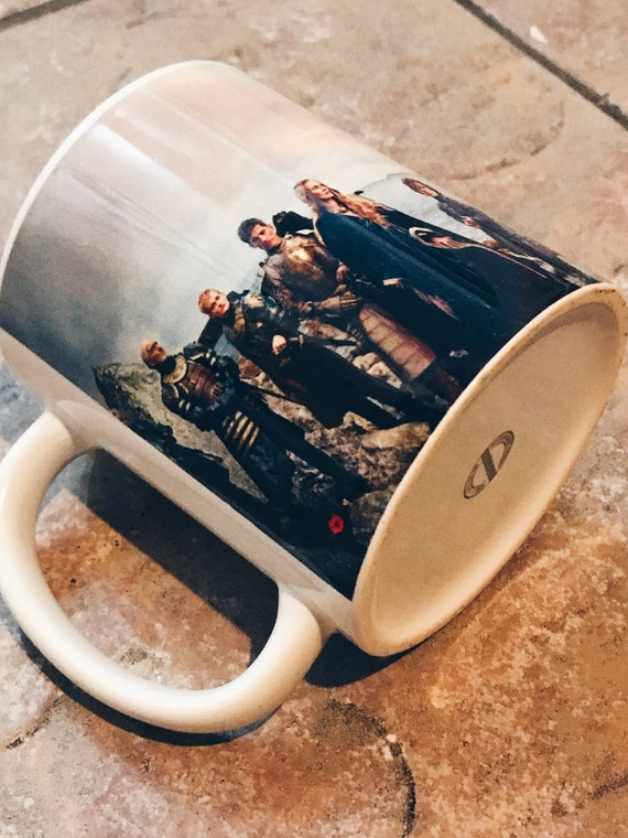 Game of Thrones Panoramic KiSS Mug - Lannister, Targaryen, Stark, Tyrell, White Walkers - Jon Snow,Daenerys - gift idea her/him, Dragons