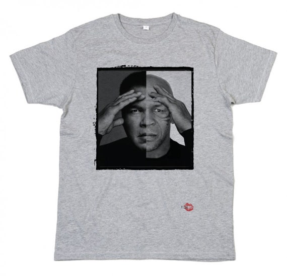 Muhammad Ali Mike Tyson KiSS T-Shirt - Boxing Sports Fighting Fans - Cassius Clay - Legends Boxers - Gift Idea for him