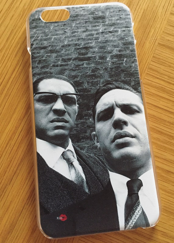 Kray Twins/Tom Hardy KiSS iPhone Case - Legend Movie - Phone Selfie - Stocking filler, Christmas Valentines Birthday Gift