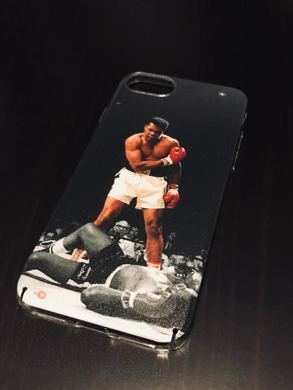 Muhammad Boxing KiSS iPhone Case - Ali Casisus Clay Knockout - Sports Fans - Gift Idea, Dad, Father, Uncle, Brother Present