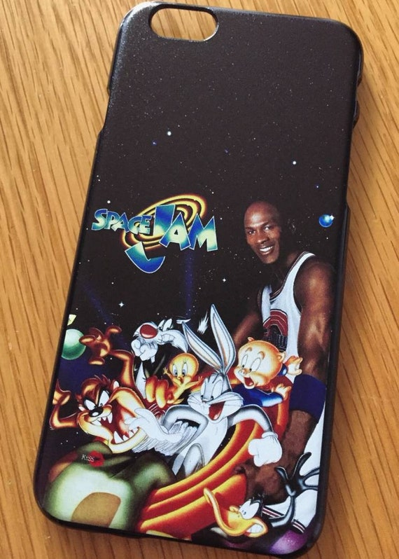 Space Jam KiSS iPhone Case - Movie inspired - Basketball - Michael Jordan - Looney Tunes - Squad gift idea