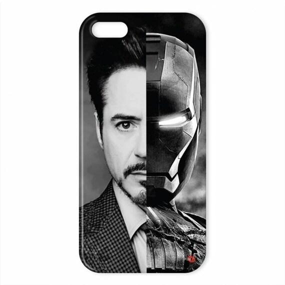 RDJ/Iron Man KiSS iPhone Case - Robert Downey Jr - Marvel Comic Superhero - American Hero - Stocking Filler - Avengers Inspired