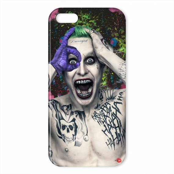 The Joker Colourful  KiSS iPhone Case - Jared Leto - Suicide Squad - Stocking Filler Christmas Present