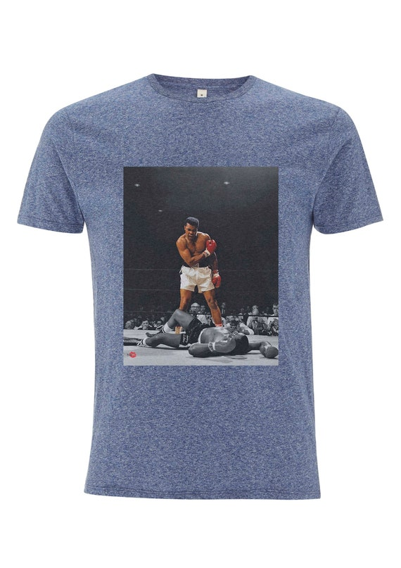 Muhammad Ali Knockout KiSS T-Shirt - Cassius Clay - Boxing Inspired Knockout Liston - Boxers - Sport Fan Present