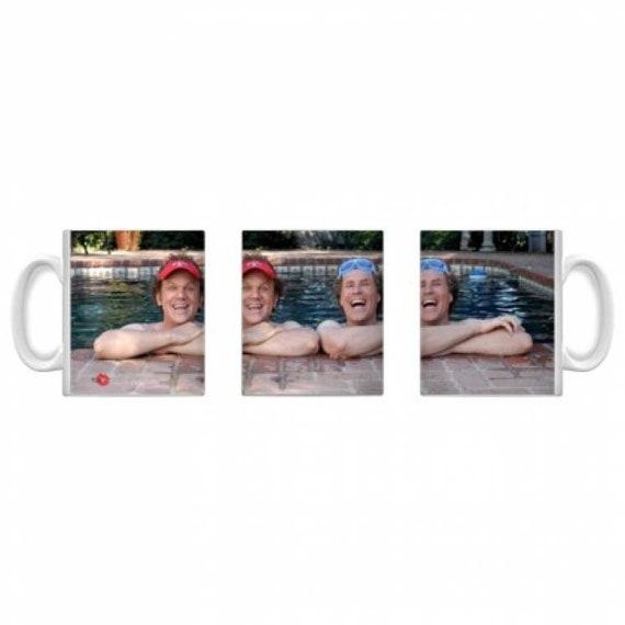Step Brothers KiSS Mug - Will Ferrell John C Reilly funny - Gift Movie fan - shark week - Stocking Filler