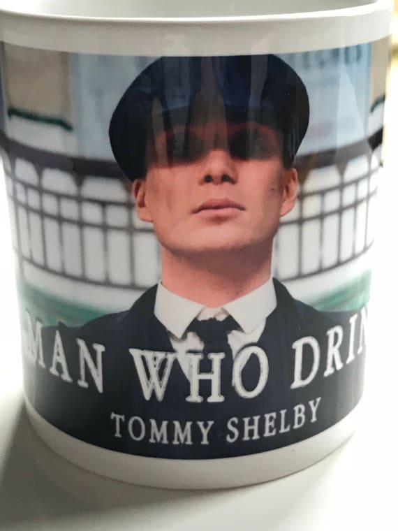 Peaky Blinders Tea KiSS Mug - Cillian Murphy, UK TV Show - Smoking - Stocking Filler - Present/Gift Idea - Gangster - By order - cuppa