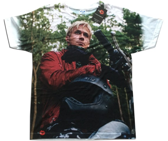Pines KiSS All Over T-Shirt - The Place Beyond the Pines - movie inspired - Ryan Gosling - Ride Like Lightening quote - present gift idea