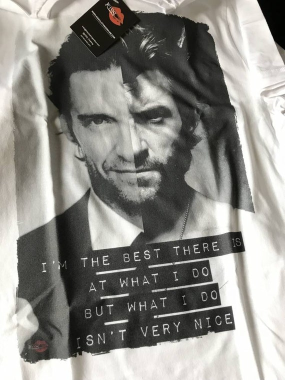 Hugh Jackman KiSS T-Shirt - Wolverine inspired - Movie Quote - Greatest Showman - Gift Idea