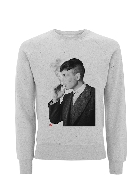 Peaky Tommy KiSS Sweatshirt - Peaky Blinders Inspired - Shelby - By Order of the - Tommy, Arthur - UK TV Show Shirt Gangster