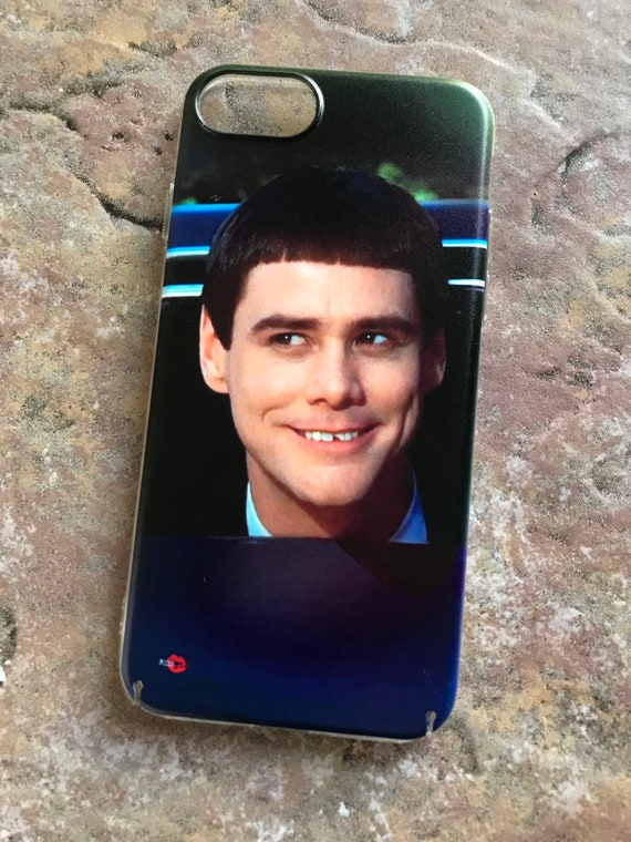 Dumb & Dumber Lloyd KiSS iPhone Case - Movie Inspired - Lloyd Christmas - Jim Carrey - Gift Present idea - G'Day Mate