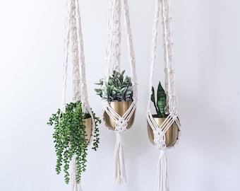 Macrame Plant Hanger, Hanging Plant Stand, Hanging Planter