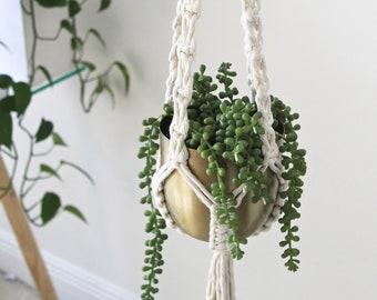 Macrame Plant Hanger, Hanging Planter, Indoor House Plant Hanger