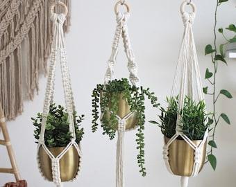 Macrame Plant Hanger, Hanging Planter, Indoor Plant Hanger