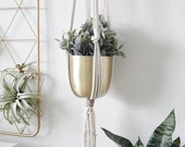 Plant Hanger, Macrame Plant Holder, Indoor Plant Stand, Vertical Planter