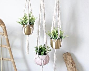 Plant Hanger, Macrame Plant Hanger, Choose your Size, Customizable