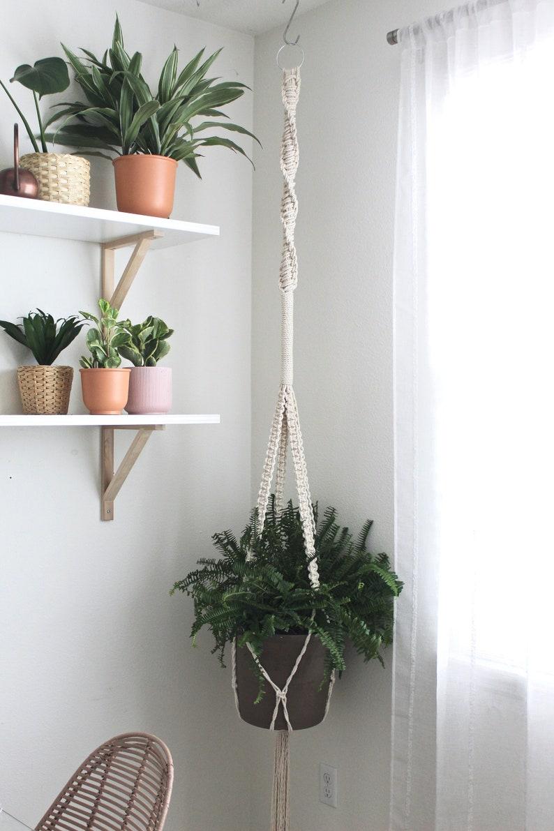 XXL Macrame Plant Hanger 8 Foot Hanging Planter