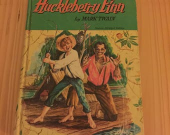 1955 Huckleberry Finn by Mark Twain, Modern Abridged Edition
