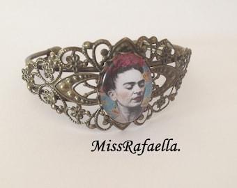 Vintage Frida Khalo bangle.