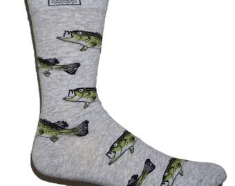 Fishy Feet fish socks (Bass)