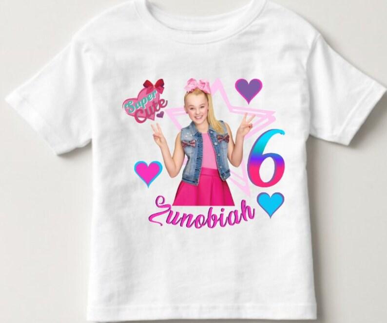 Jojo Siwa Shirt Birthday Girls
