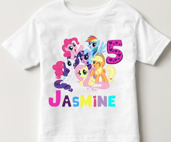My Little Pony Birthday Shirt Rainbow Dash