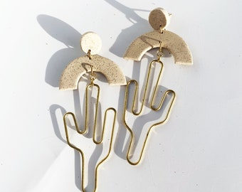 Saguaro Sunset Earrings