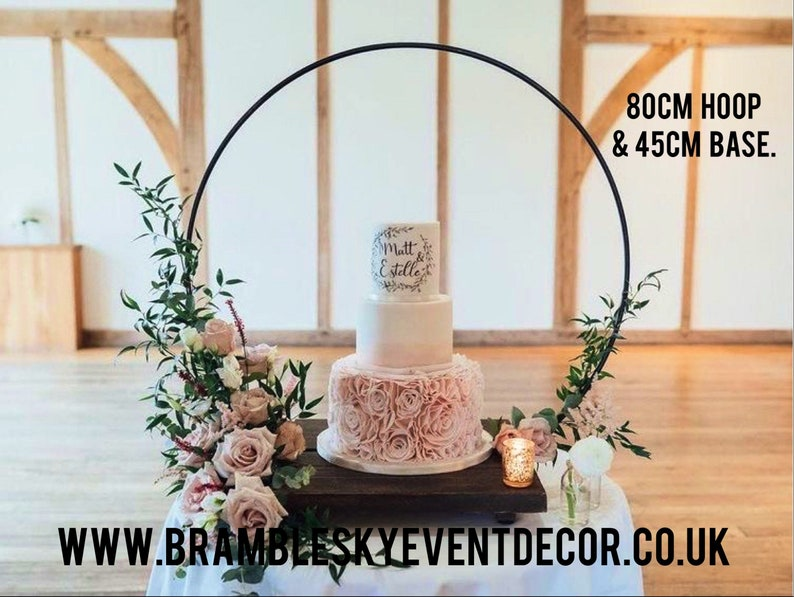 Cake Hoop Stand  Please note  Hoop and base sold separately image 0