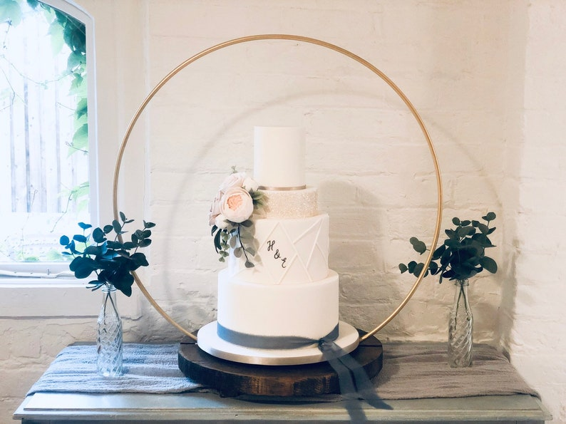 Cake Hoop Stand Hoop and base sold separately  made with image 0