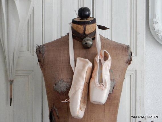 Alte Ballettschuhe Spitzenschuhe Spitzentanz Ballett ballet | Etsy