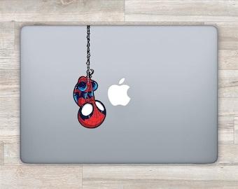 Spiderman MacBook Decal Superhero MacBook Sticker Marvel Laptop Sticker Spider man Laptop Decal MacBook Pro Decal MacBook Air Sticker D 0820