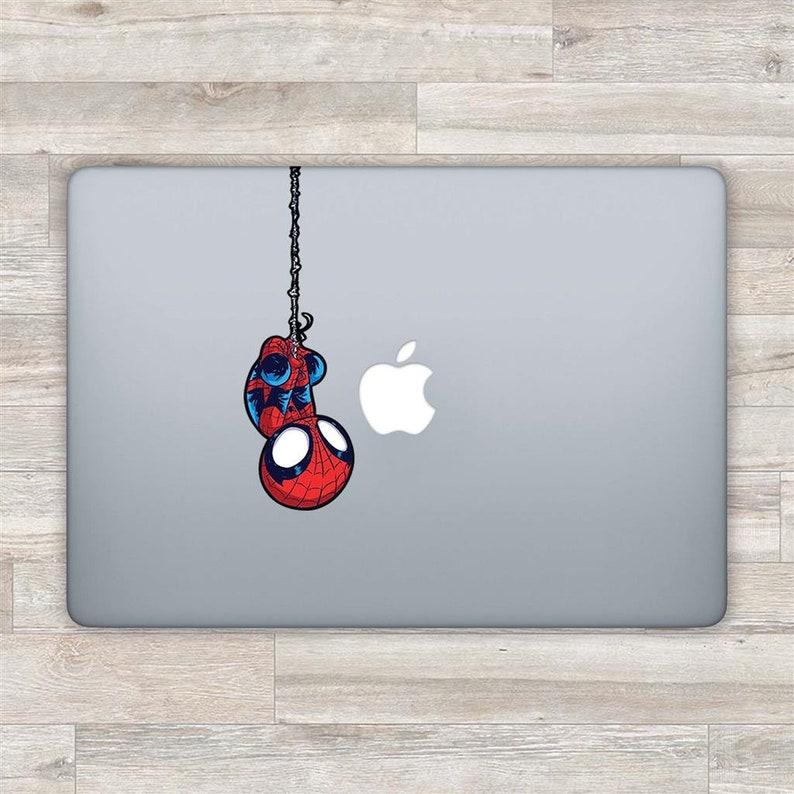 Spiderman MacBook Decal Superhero MacBook Sticker Marvel image 1
