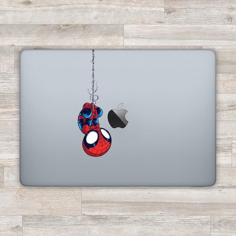 a8b5e7ec690d7 Spiderman MacBook Decal Superhero MacBook Sticker Marvel