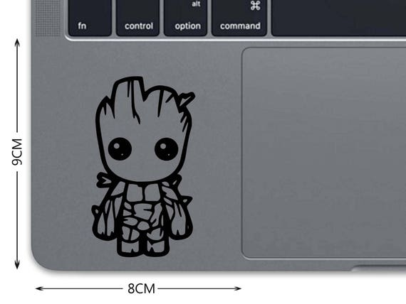 Groot MacBook Decal Guardians Of The Galaxy MacBook Sticker Marvel Trackpad  Decal Laptop Decal Laptop Sticker 13 Touchpad Sticker Z 1242