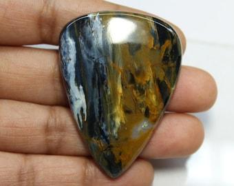 Amazing Quality Natural Pietersite Gemstone, Natural Pietersite Cabochon gemstone,Top Quality Pietersite loose gemstone (45X32)mm code#3402