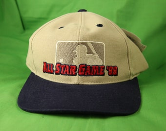 b7ca92dc309 Vintage 90s MLB All Star Game Adjustable Strapback Hat Cap 1999 Fenway Park Boston  Red Sox New With Tags NWT Deadstock NOS Starter
